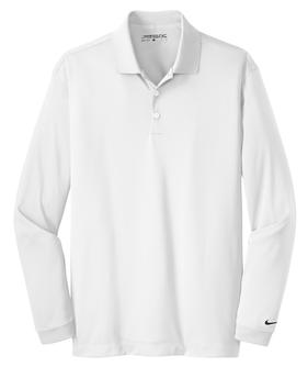 NEW Nike Golf Long Sleeve Dri-FIT Stretch Tech Polo