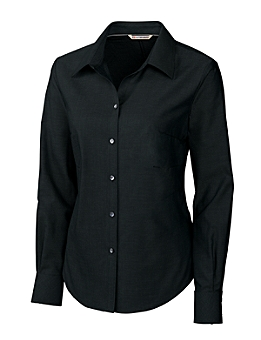 Cutter & Buck Ladies' L/S Epic Easy Care Royal Polo