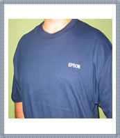 Navy Hanes Beefy-T Shirt